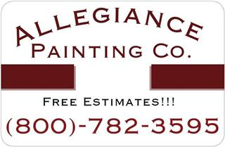 ALLEGIANCE PAINTING CO Logo