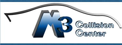 M3 Collision Center Logo